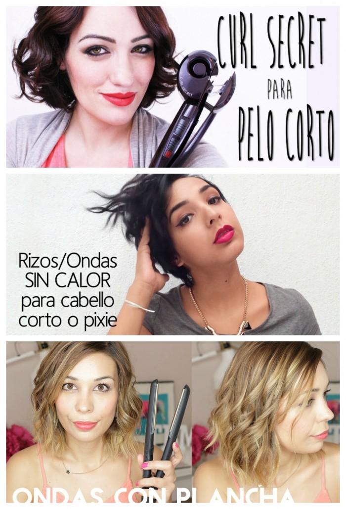 Cómo Ondular El Pelo Corto Con Y Sin Calor Tips De Maquillaje