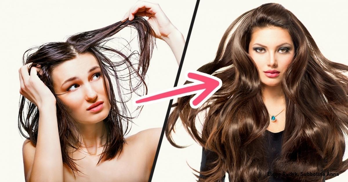 Как сделать волосы густыми они у меня тонкие 41