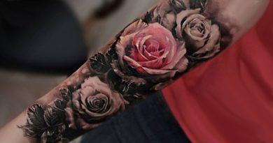 Tatuajes de rosas que expresan tu belleza, feminidad y seguridad interior