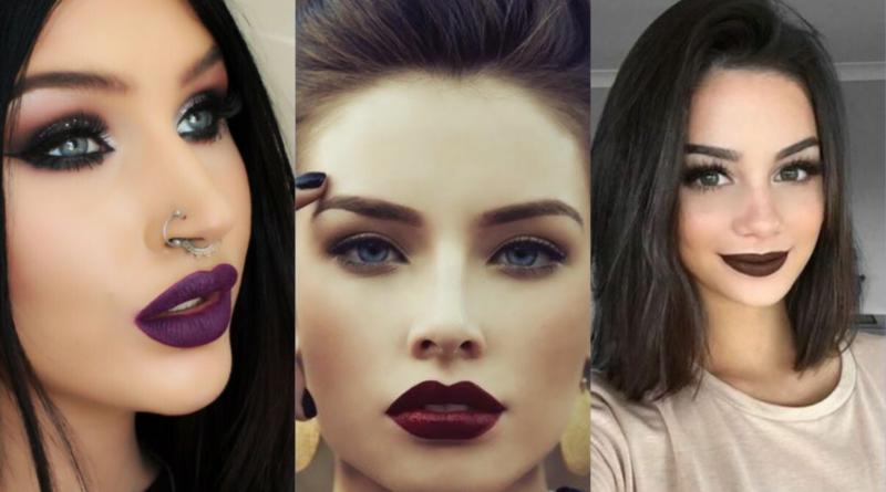 10 Trucos para sacarle provecho a tus labiales oscuros; ¡atrevete a intentar un look de misterio!