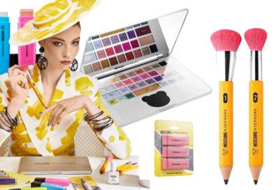 Moschino y Sephora lanzan línea de maquillaje inspirada en artículos escolares